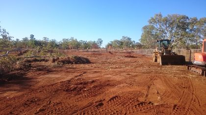 Construction of a new shed and building for the Roper Gulf Regional Council